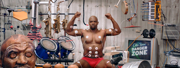 Old Spice: musical interactivo